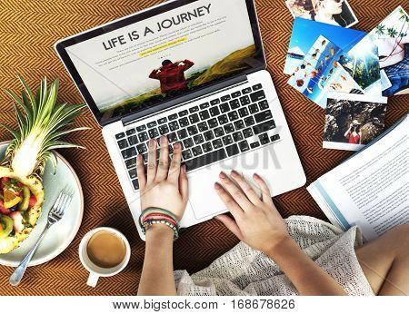 Life is Journey Adventurous Beautiful Enjoyment