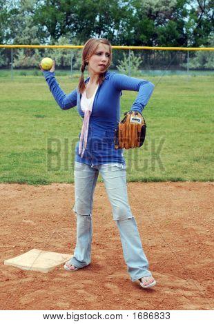 Softball Toss