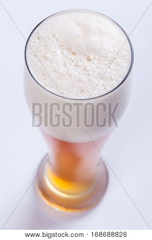 Beer Over White