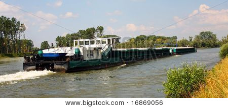 Inland navigation on a Danube River - Germany