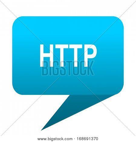 http blue bubble icon