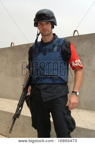Italian Carabinieri Serving In Iraq.