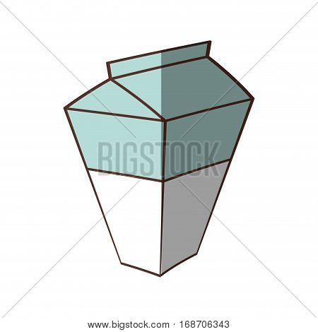 box carton milk juice shadow vector illustration eps 10