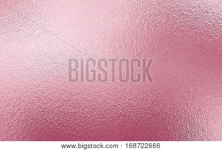 Shiny Pink foil paper decorative texture background for artwork.