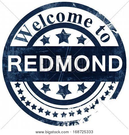 redmond stamp on white background