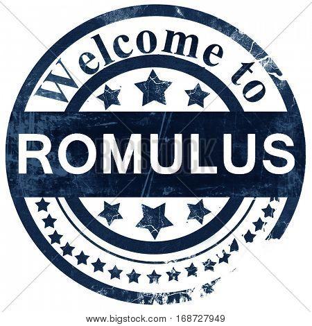 romulus stamp on white background