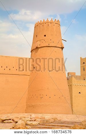 Al Masmak fort in the Riyadh city, Saudi Arabia