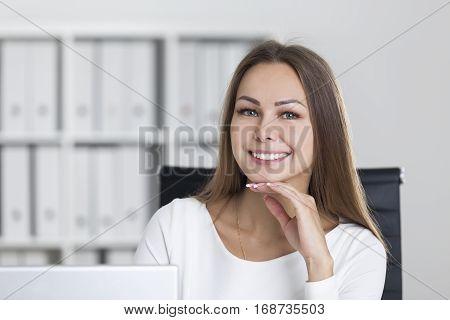 Beautiful Businesswoman's Portrait