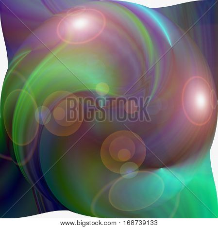 Abstract coloring background of the deep sea gradient with visual pinch,twirl,lighting and spherize effects,good for your design