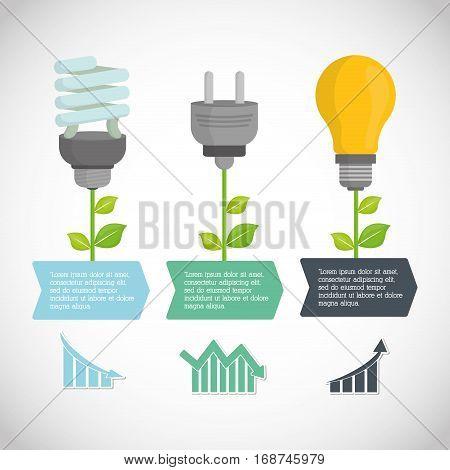 environmental care icon design, vector illustration image