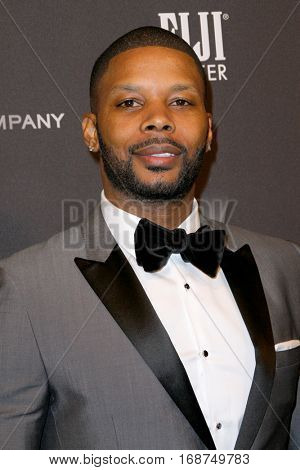 Kerry Rhodes arrives at the Weinstein Company and Netflix 2017 Golden Globes After Party on Sunday, January 8, 2017 at the Beverly Hilton Hotel in Beverly Hills, CA.