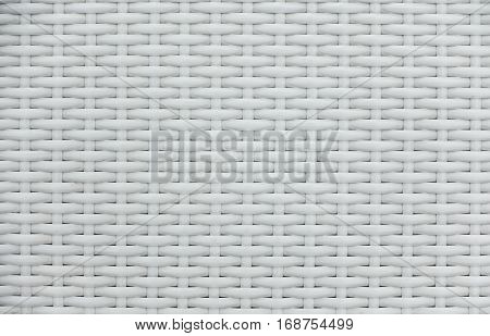 White rattan weaving basket bamboo pattern texture