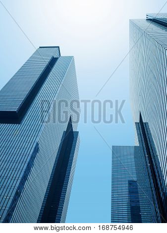 Common Modern Business Skyscrapers,
