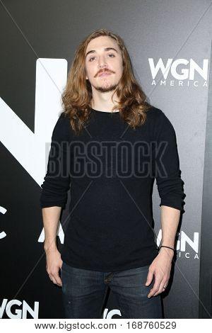 LOS ANGELES - DEC 13:  Kyle Gallner at the WGN America's