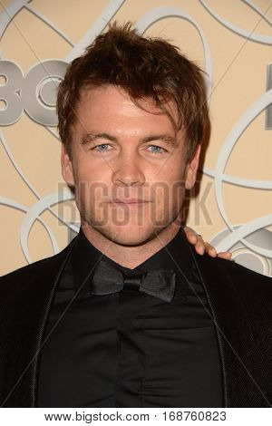 LOS ANGELES - JAN 8:  Luke Hemsworth at the HBO Golden Globes After-Party at Circa 55 at Beverly Hilton Hotel on January 8, 2017 in Beverly Hills, CA