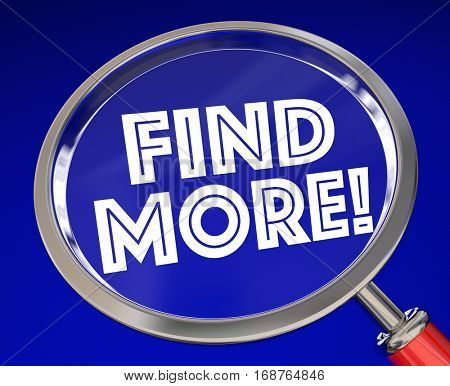 Find More Search Magnifying Glass 3d Illustration
