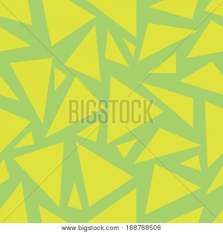 Vector Seamless Pattern with triangle shapes. Napkin background with seamless pattern