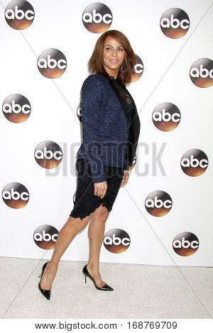 LOS ANGELES - JAN 10:  Nicole Ari Parker at the Disney/ABC TV TCA Winter 2017 Party at Langham Hotel on January 10, 2017 in Pasadena, CA