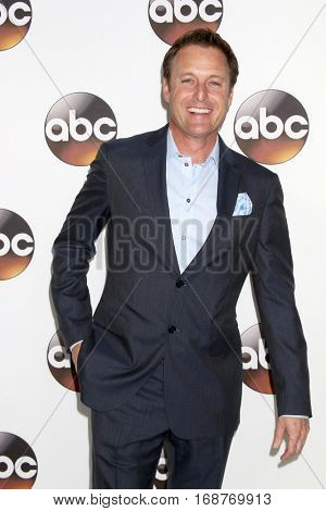 LOS ANGELES - JAN 10:  Chris Harrison at the Disney/ABC TV TCA Winter 2017 Party at Langham Hotel on January 10, 2017 in Pasadena, CA