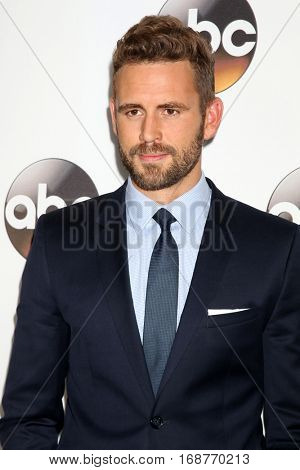 LOS ANGELES - JAN 10:  Nick Viall at the Disney/ABC TV TCA Winter 2017 Party at Langham Hotel on January 10, 2017 in Pasadena, CA