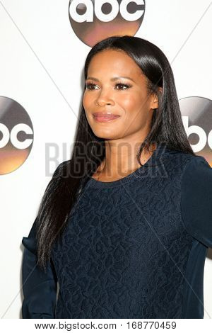 LOS ANGELES - JAN 10:  Rose Rollins at the Disney/ABC TV TCA Winter 2017 Party at Langham Hotel on January 10, 2017 in Pasadena, CA