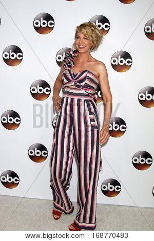 LOS ANGELES - JAN 10:  Jenna Elfman at the Disney/ABC TV TCA Winter 2017 Party at Langham Hotel on January 10, 2017 in Pasadena, CA