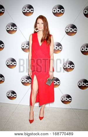 LOS ANGELES - JAN 10:  Darby Stanchfield at the Disney/ABC TV TCA Winter 2017 Party at Langham Hotel on January 10, 2017 in Pasadena, CA