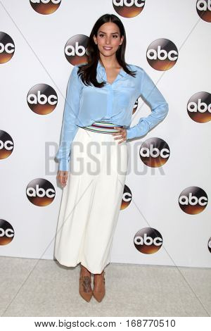 LOS ANGELES - JAN 10:  Genesis Rodriguez at the Disney/ABC TV TCA Winter 2017 Party at Langham Hotel on January 10, 2017 in Pasadena, CA
