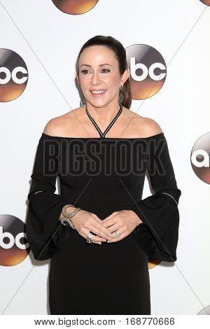 LOS ANGELES - JAN 10:  Patricia Heaton at the Disney/ABC TV TCA Winter 2017 Party at Langham Hotel on January 10, 2017 in Pasadena, CA