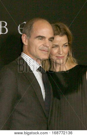 LOS ANGELES - JAN 9:  Michael Kelly, Karyn Kelly at the