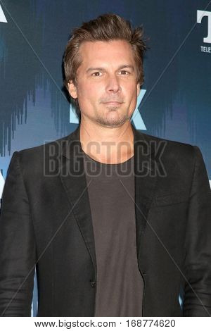 LOS ANGELES - JAN 11:  Len WIseman at the FOX TV TCA Winter 2017 All-Star Party at Langham Hotel on January 11, 2017 in Pasadena, CA