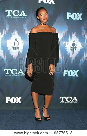 LOS ANGELES - JAN 11:  Chandler Kinney at the FOX TV TCA Winter 2017 All-Star Party at Langham Hotel on January 11, 2017 in Pasadena, CA