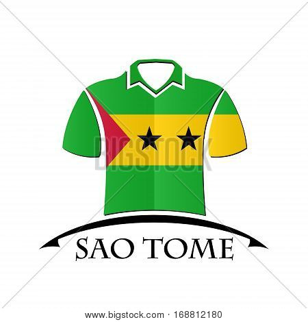 shirts icon made from the flag of Sao Tome