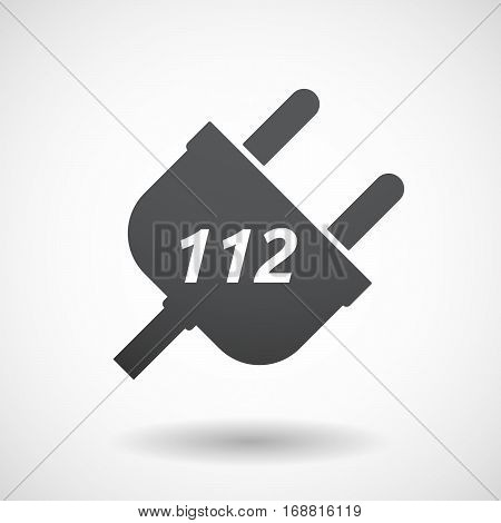 Isolated Plug With    The Text 112