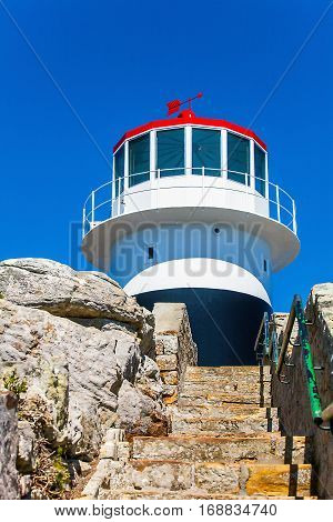 Lighthouse at the Cape of Good Hope South Africa