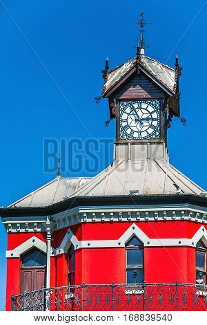 Clock Tower at the Waterfront in Cape Town
