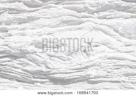 Natural  Texture Of White With  Pattern Of Convex Layers