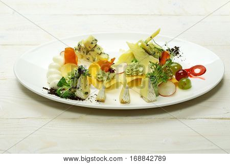 Snack Or Platter With Cheese