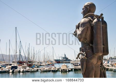Blik on the port of St. James South Africa