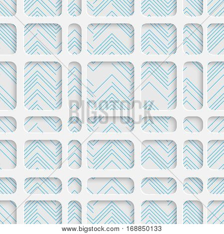 Seamless Wrapping Paper Pattern. Abstract Tracery Background. Modern Stylish Wallpaper. 3d Delicate Design