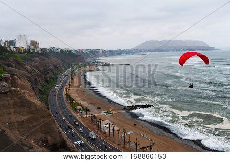View of Miraflores - Lima - Peru
