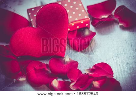Valentines day love and sweetest concept and idea