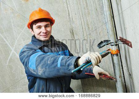 plumber engineer worker