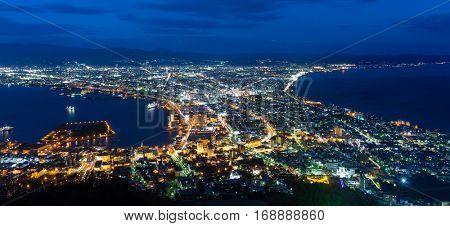 Hakodate cityscape