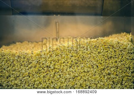 Popcorn in a glass case for sale