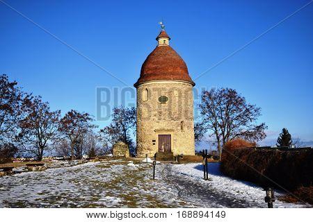 St. George's Rotunda,  The Romanesque St. George rotunda is the oldest building in the town Skalica