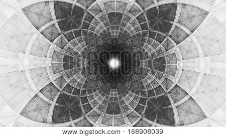 Geometric patterns. Colored figures. 3D surreal illustration. Sacred geometry. Mysterious psychedelic relaxation pattern. Fractal abstract texture. Digital artwork graphic astrology magic