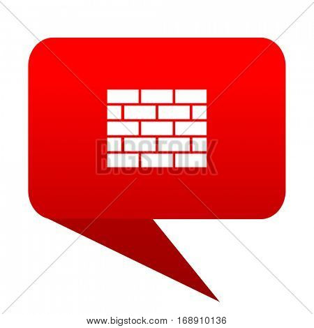 firewall bubble red icon
