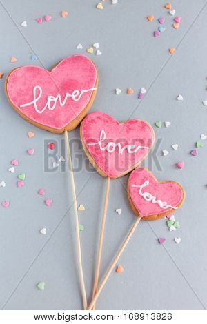 cookie for Valentine day