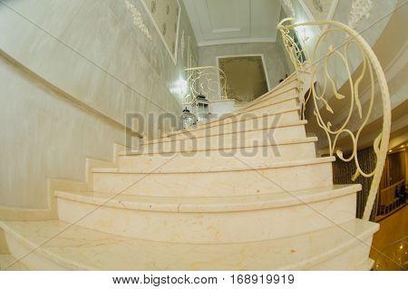 Vintage Marble Stair